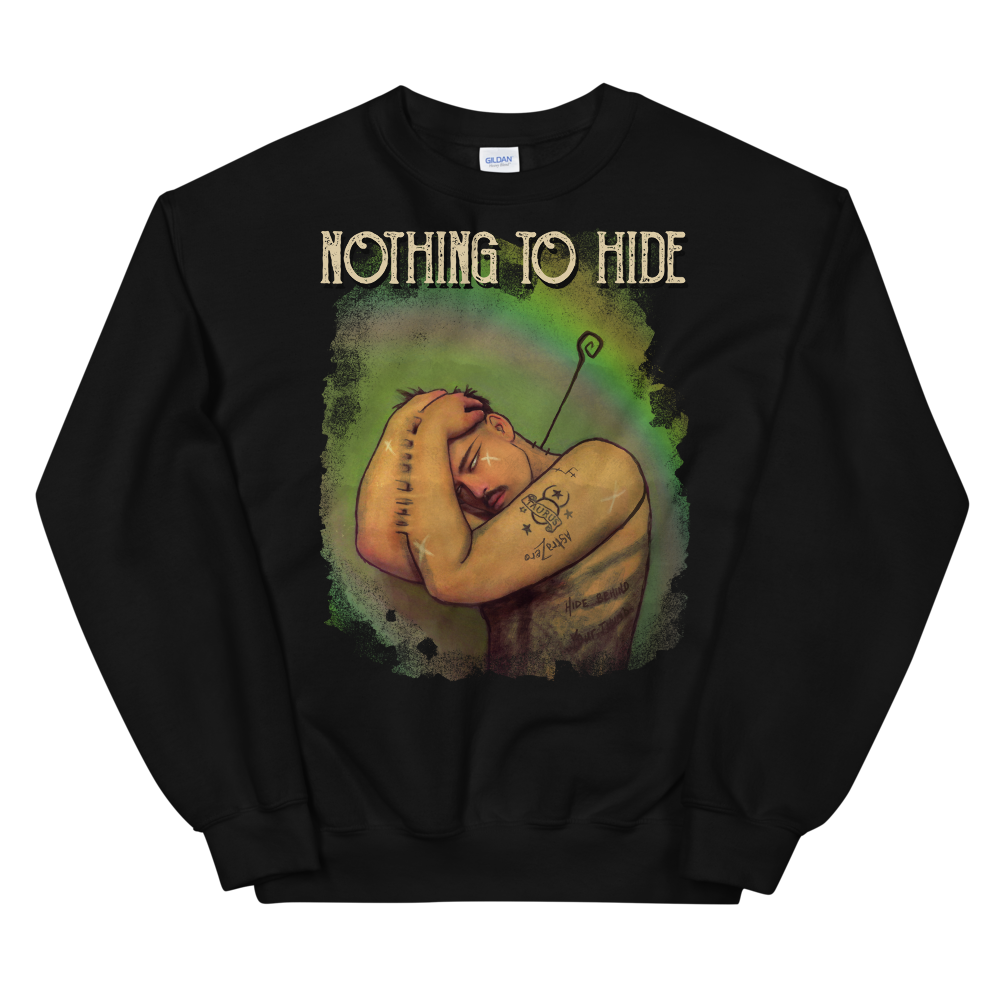 """Featured image for """"Nothing to Hide - Unisex Sweatshirt"""""""