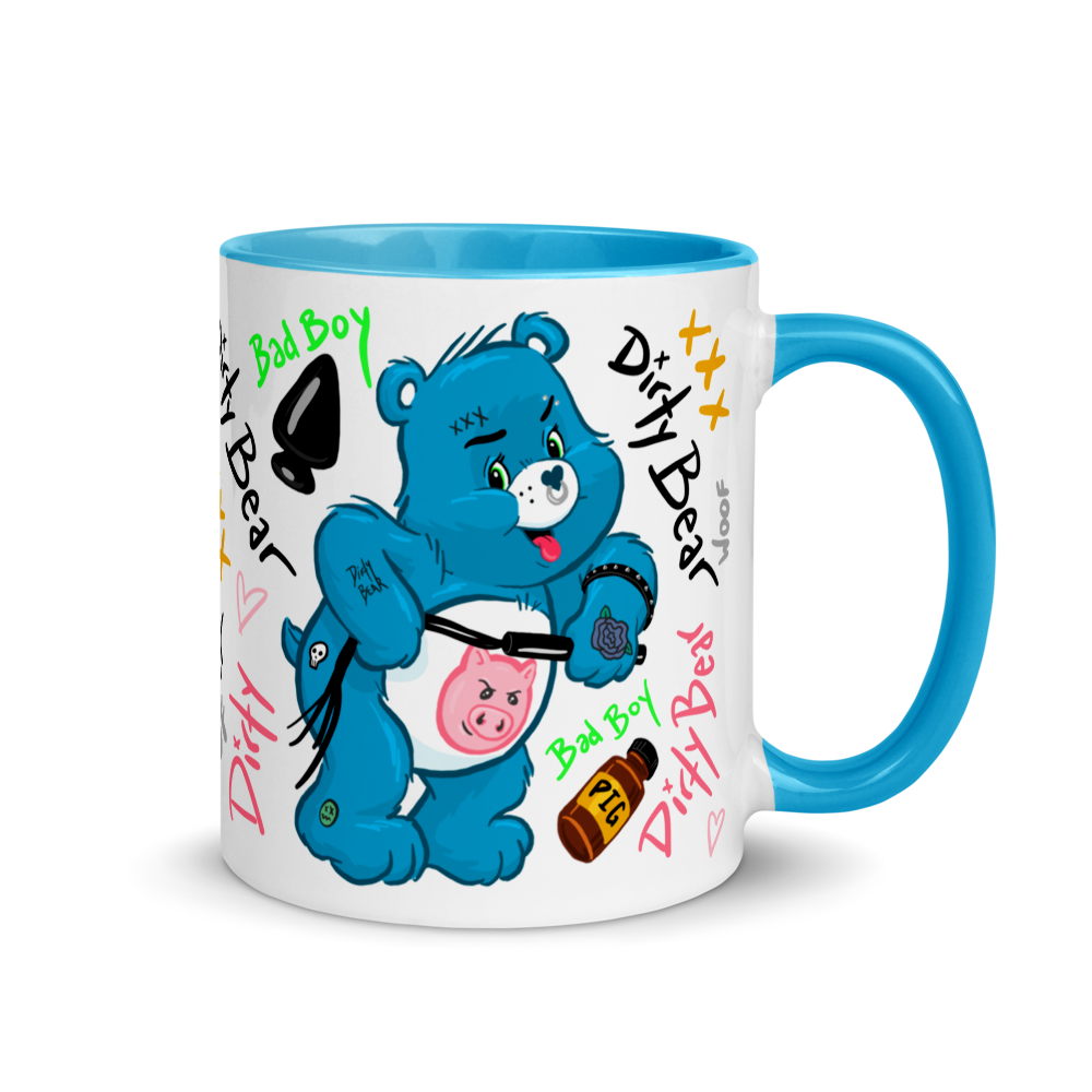 """Featured image for """"Dirty Bear Blue - Mug"""""""