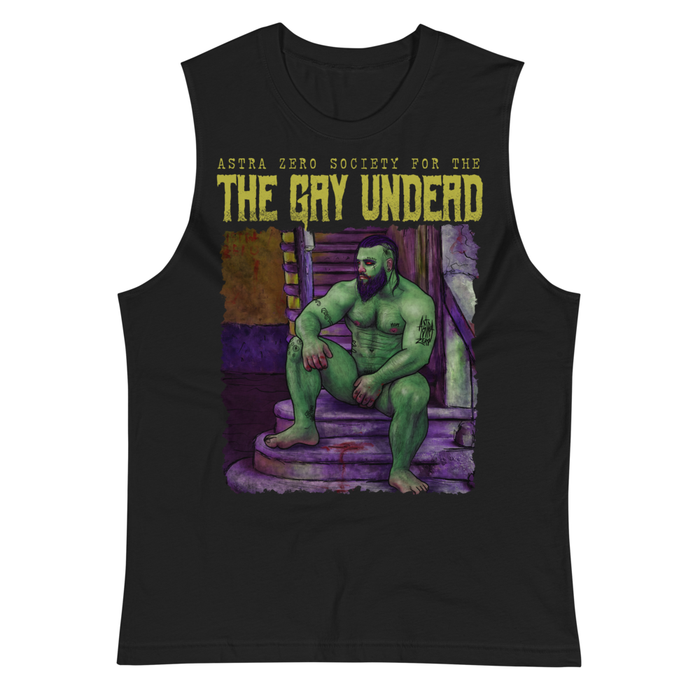 """Featured image for """"The Gay Undead - Muscle Shirt"""""""