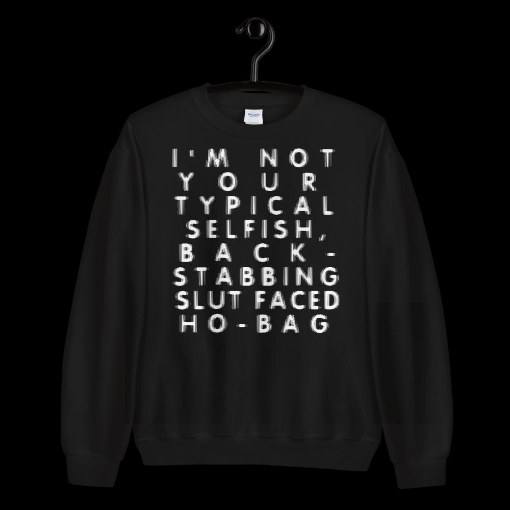 "Featured image for ""Slut Faced Ho-Bag - Unisex Sweatshirt"""