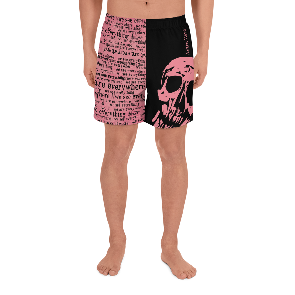 """Featured image for """"We See Everything We Are Everywhere - Men's Athletic Long Shorts"""""""