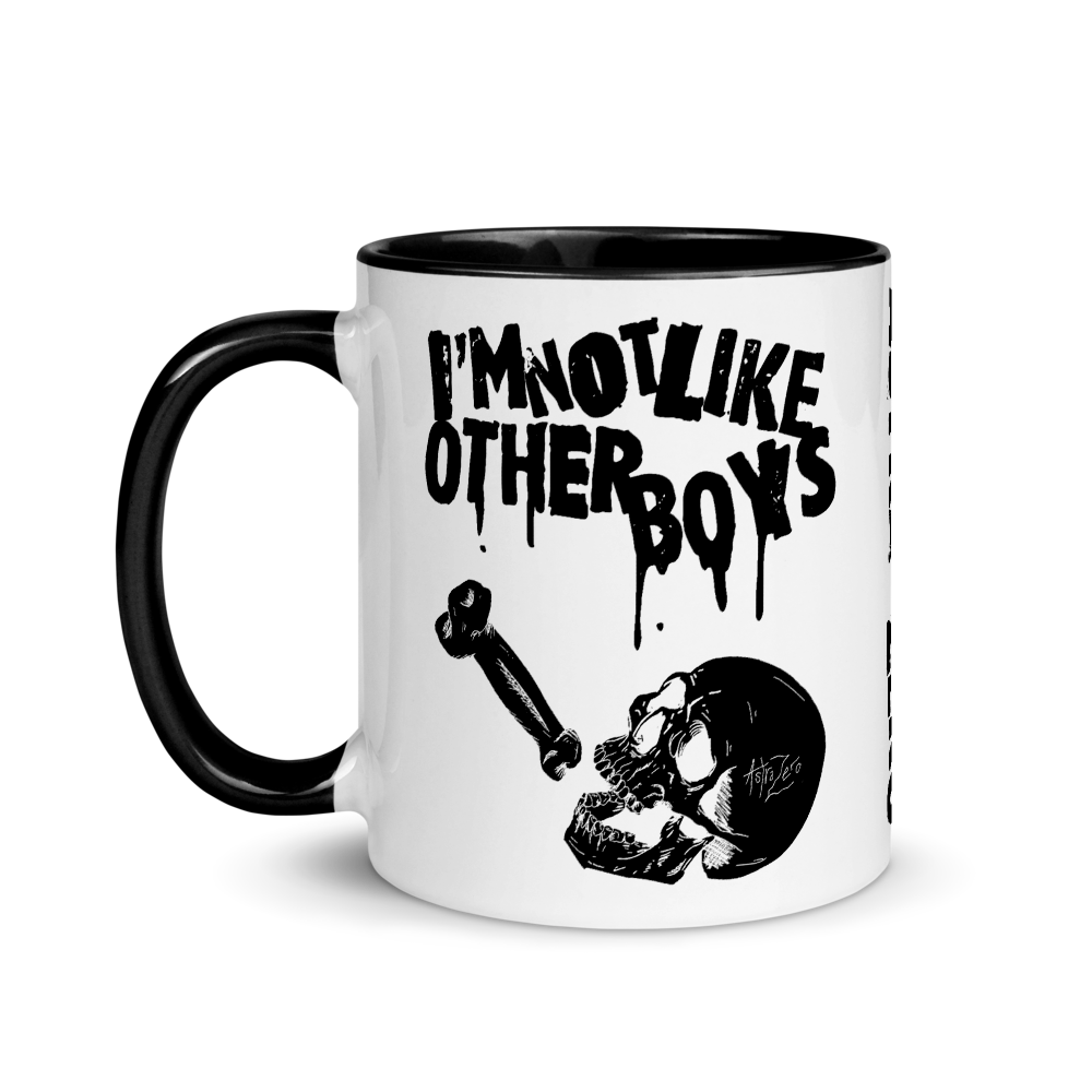 """Featured image for """"I'm Not Like Other Boys - Mug with Color Inside"""""""