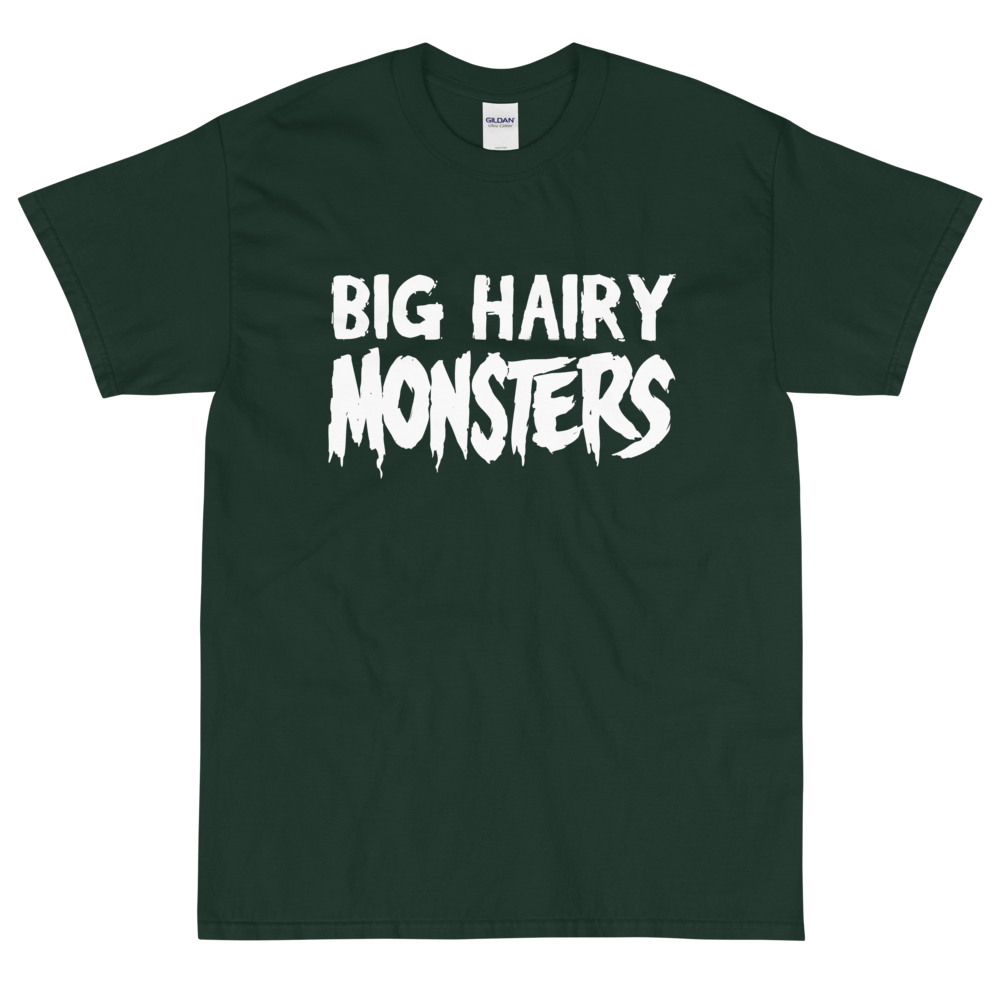 """Featured image for """"Big Hairy Monsters ( 5XL Only ) Short Sleeve T-Shirt"""""""