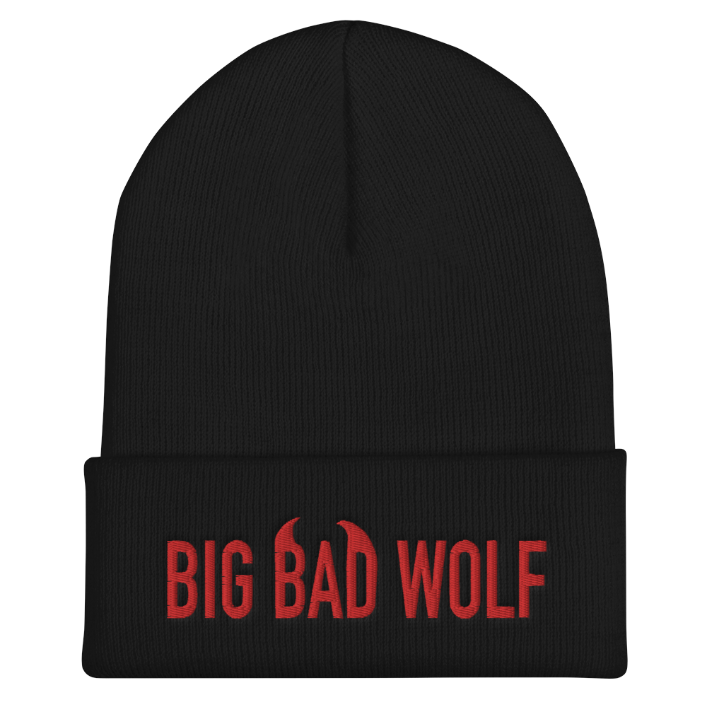 """Featured image for """"Big Bad Wolf - Cuffed Beanie"""""""