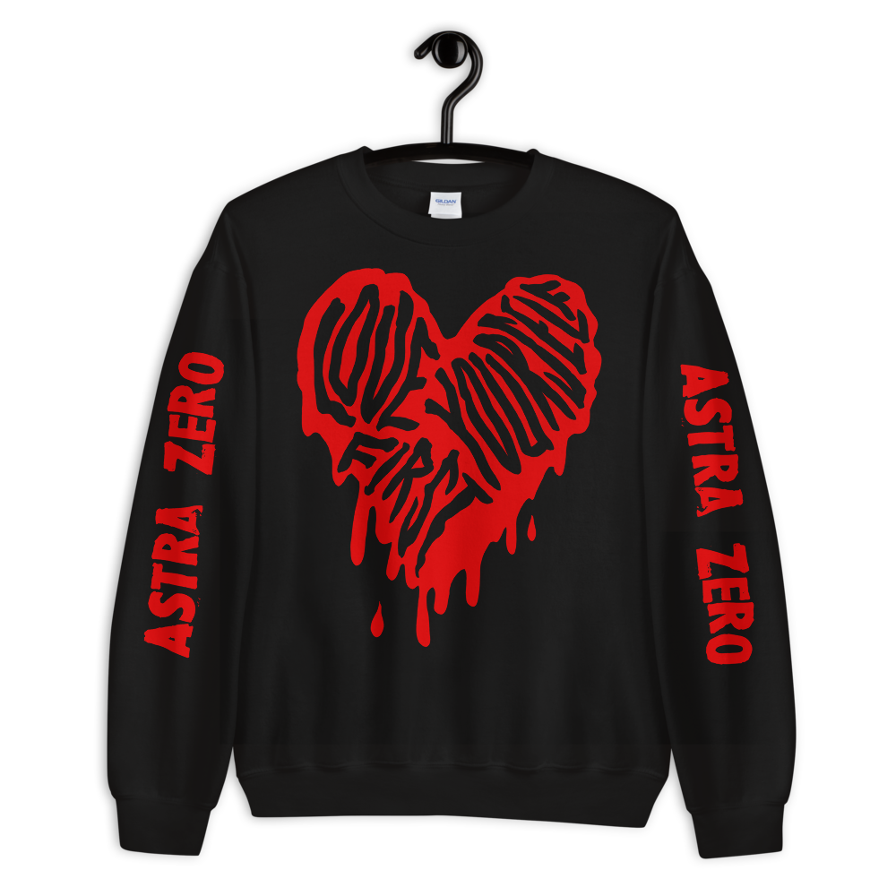"""Featured image for """"Love Yourself First - Unisex Sweatshirt"""""""
