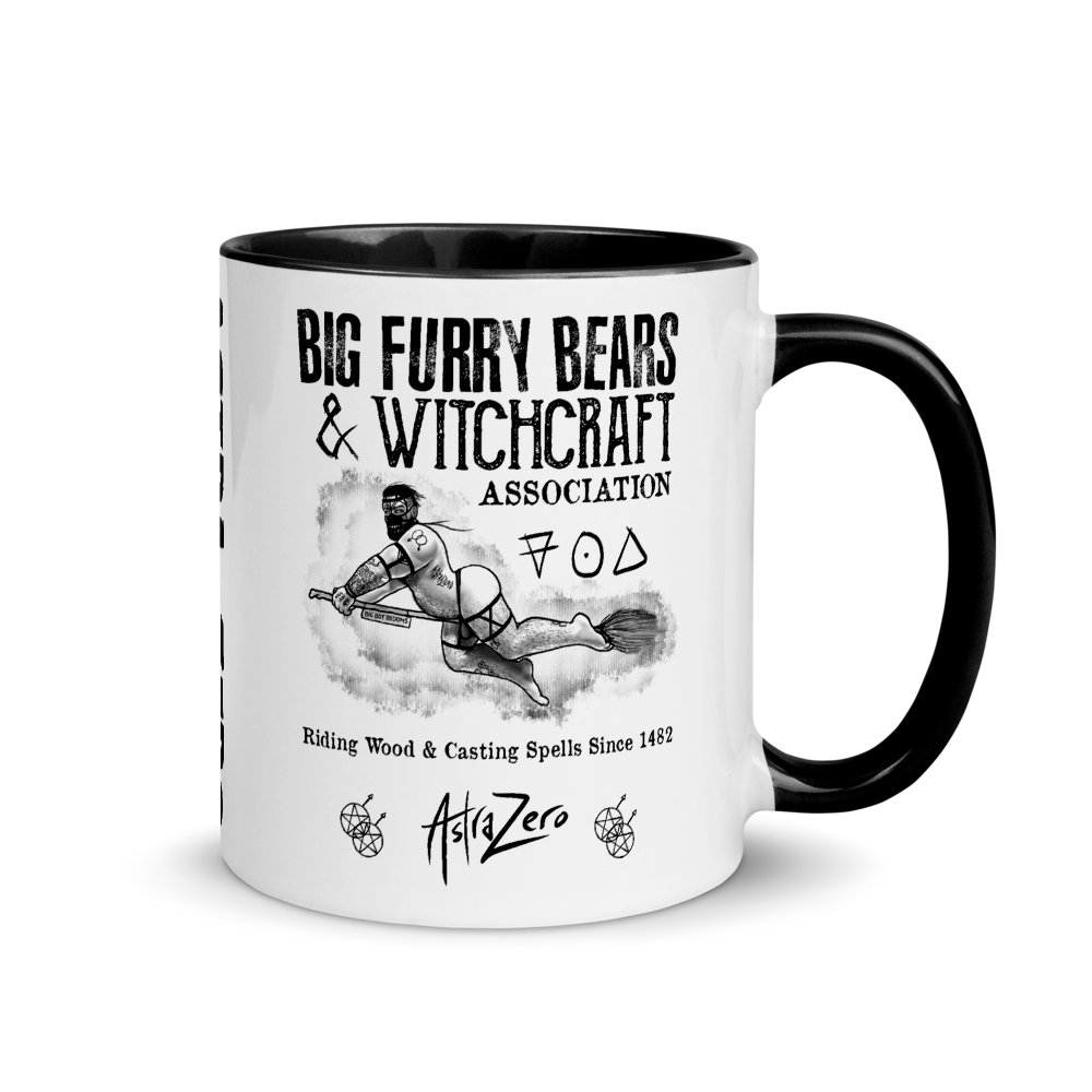 """Featured image for """"BIG FURRY BEARS & WITCHCRAFT – MUG"""""""