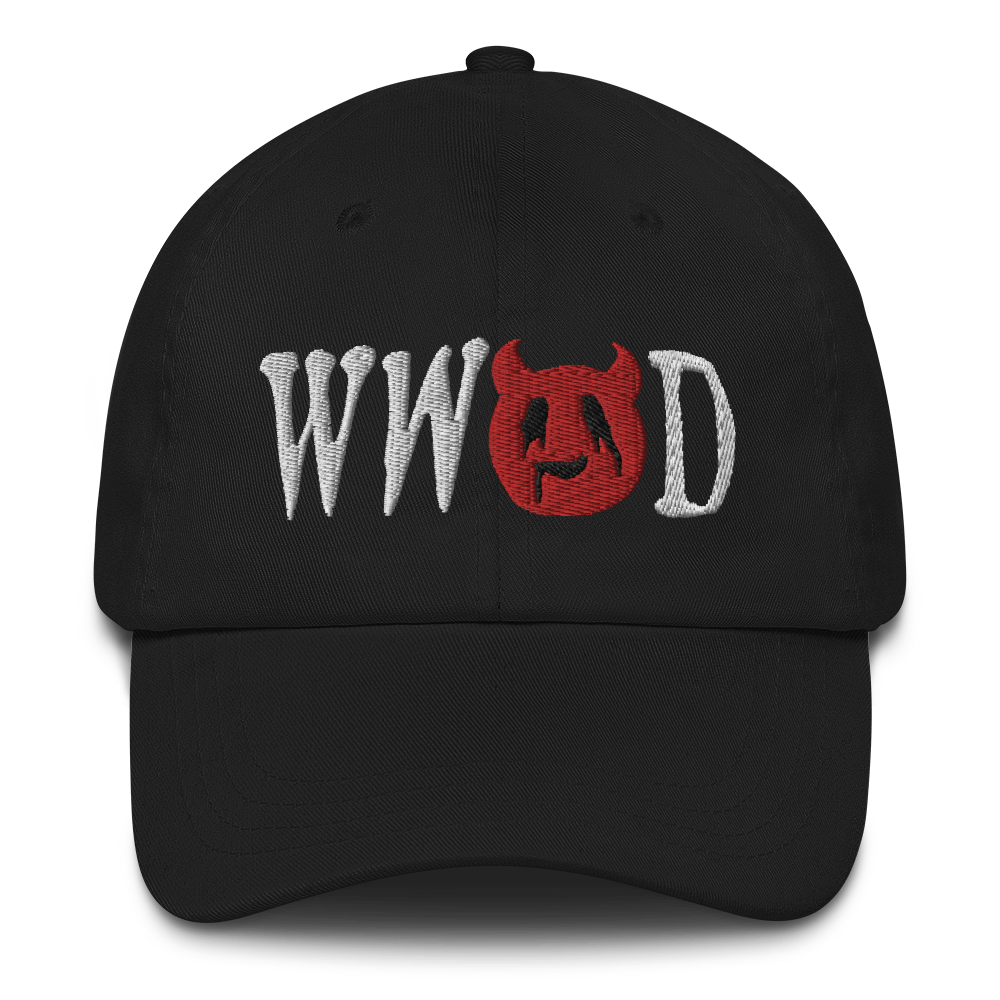 """Featured image for """"WWSD - Dad hat"""""""