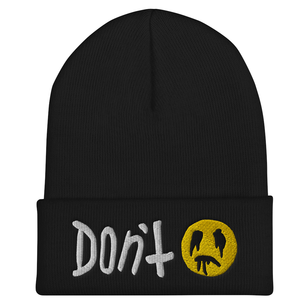 """Featured image for """"Don't - Cuffed Beanie"""""""