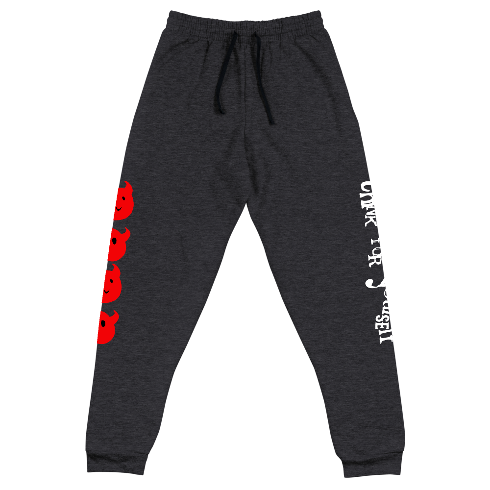 """Featured image for """"Think for Yourself - Unisex Joggers"""""""