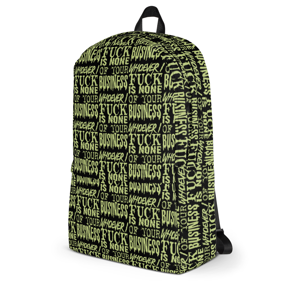 """Featured image for """"Whoever I Fuck - Backpack"""""""