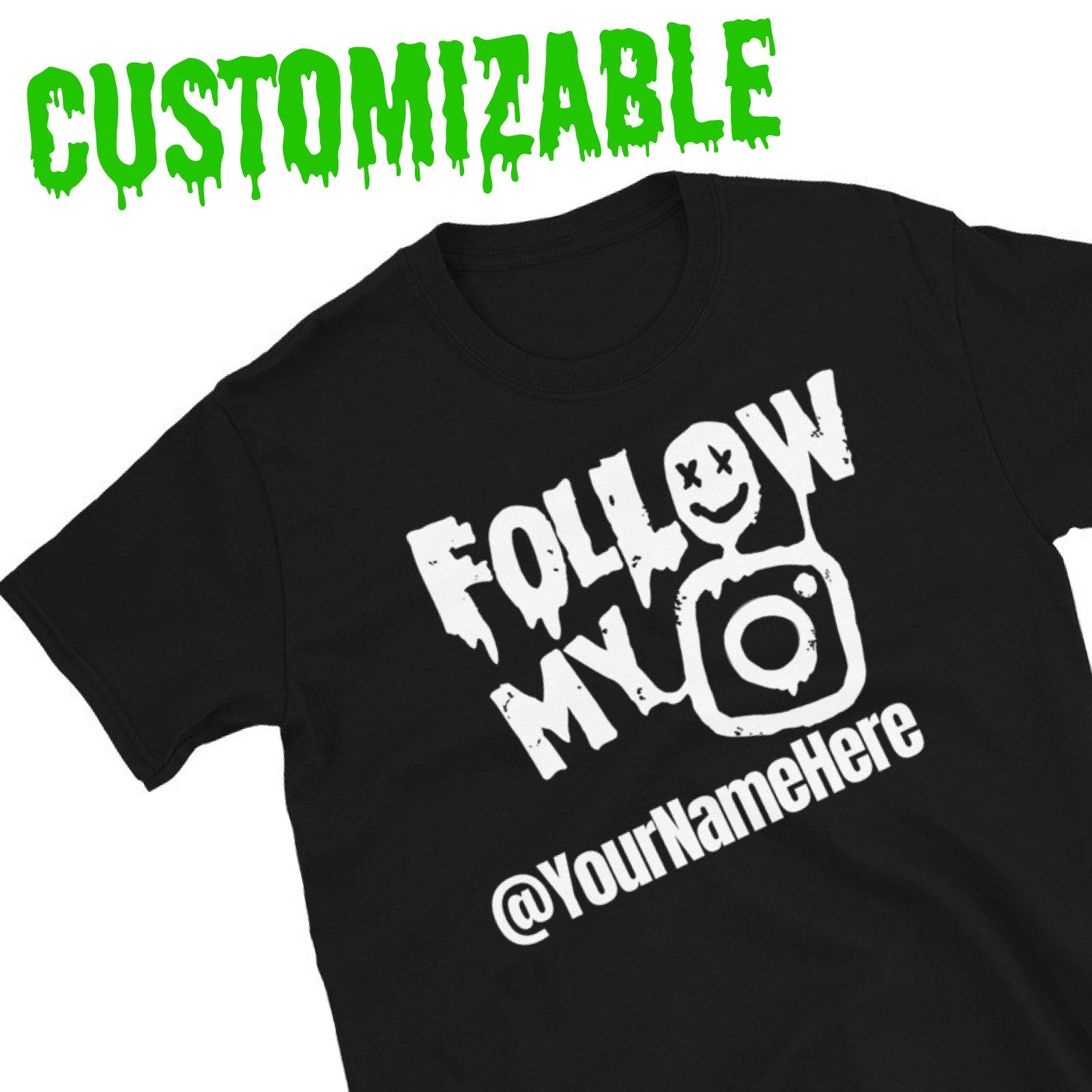 "Featured image for ""CUSTOM - Instagram - Short-Sleeve Unisex T-Shirt"""