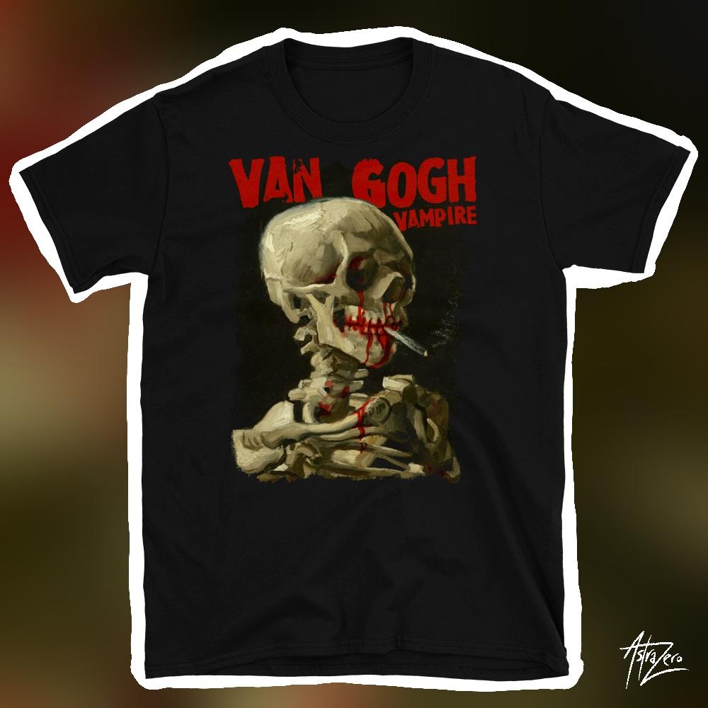 "Featured image for ""Van Gogh Vampire - Short-Sleeve Unisex T-Shirt"""