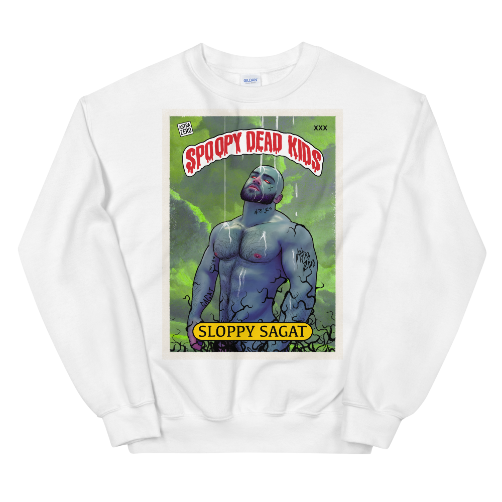 "Featured image for ""Spoopy Dead Kids ( Sloppy Sagat )  Unisex Sweatshirt"""