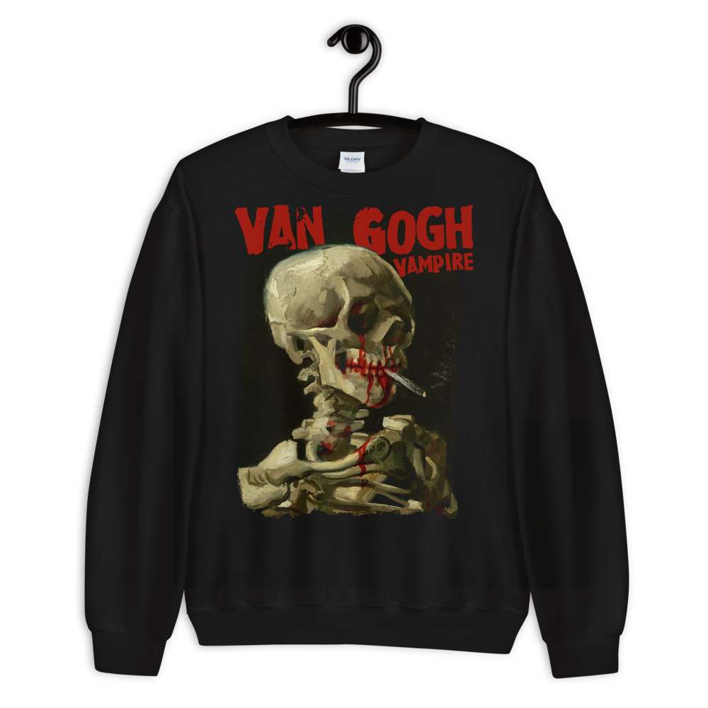 "Featured image for ""Van Gogh Vampire - Unisex Sweatshirt"""
