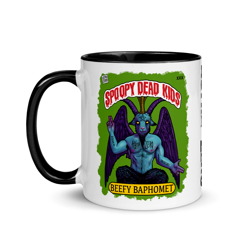 "Featured image for ""Spoopy Dead Kids ( Beefy Baphomet ) Mug"""