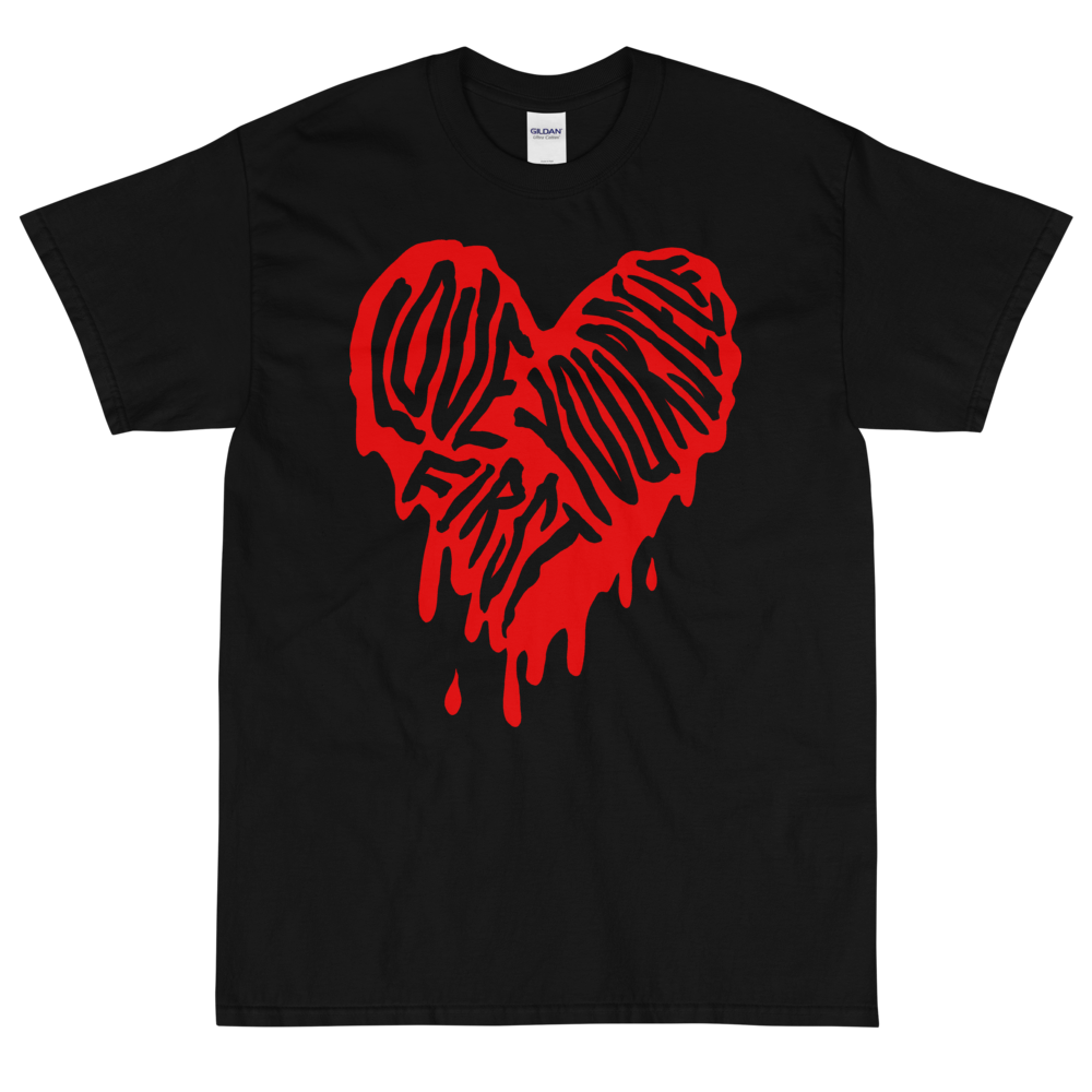 """Featured image for """"Love Yourself First ( 4XL - 5XL Only ) Short Sleeve T-Shirt"""""""
