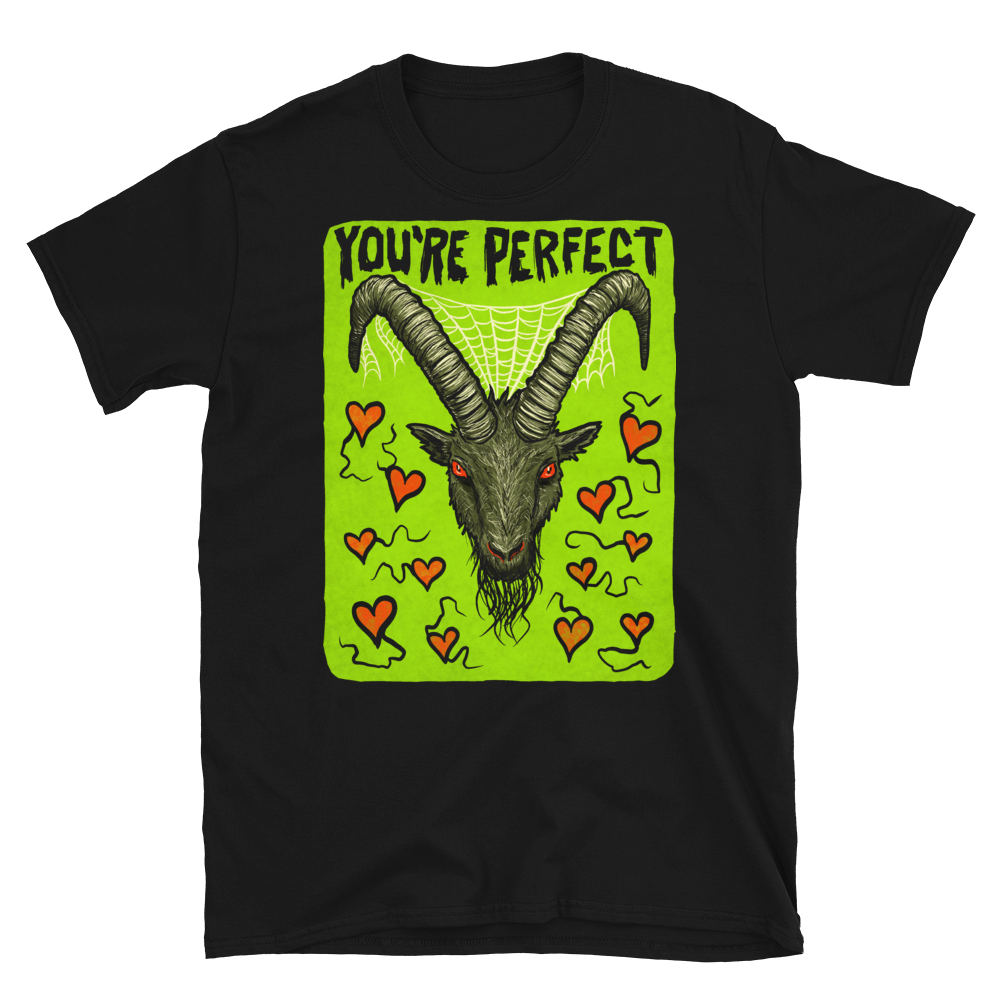 """Featured image for """"You're Perfect - Goat - Short-Sleeve Unisex T-Shirt"""""""