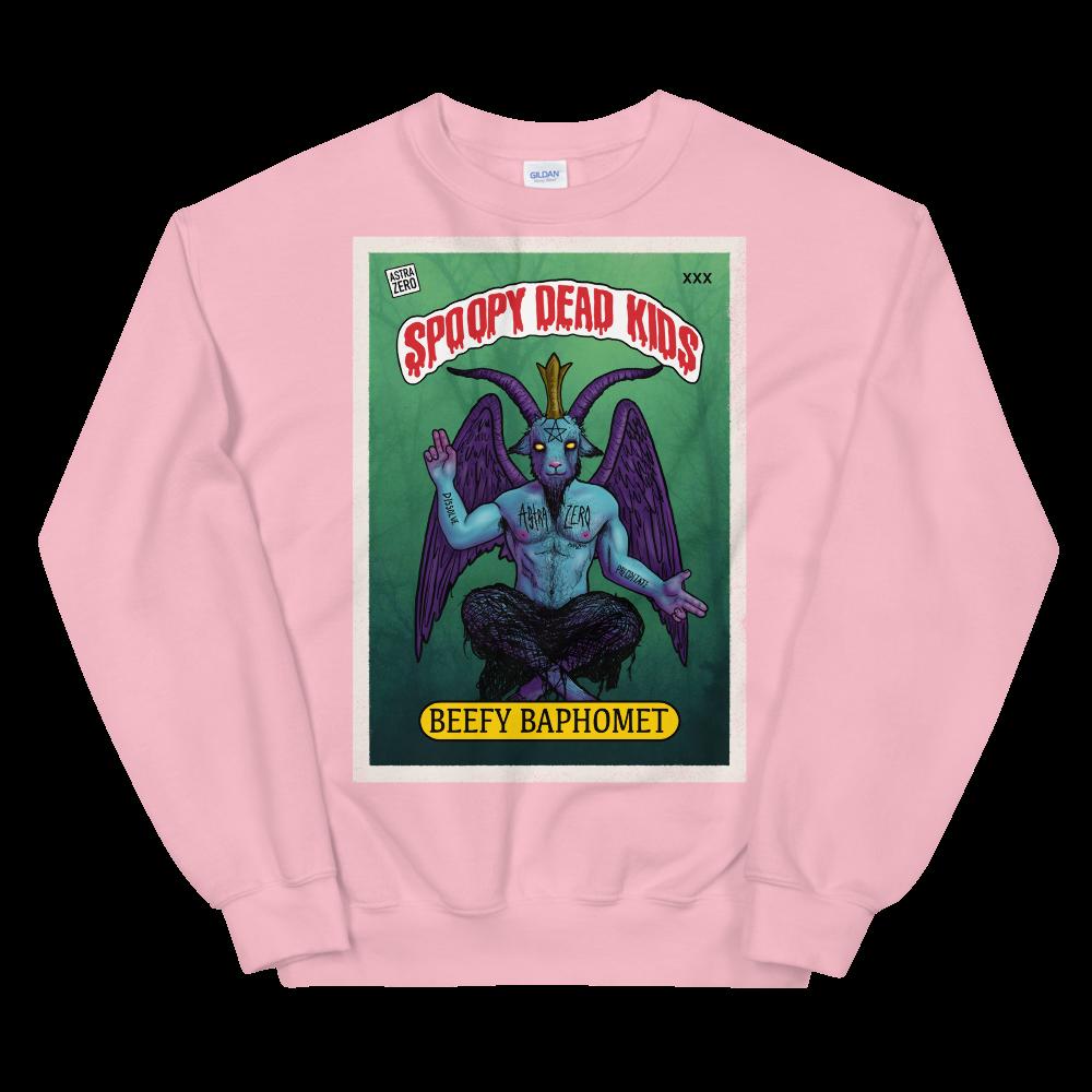 "Featured image for ""Spoopy Dead Kids ( Beefy Baphomet ) Unisex Sweatshirt"""