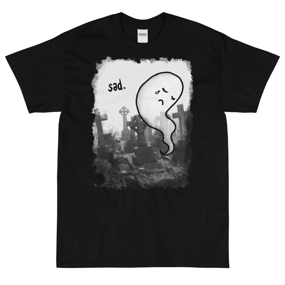"""Featured image for """"Sad. ( 4XL - 5XL Only ) Short Sleeve T-Shirt"""""""