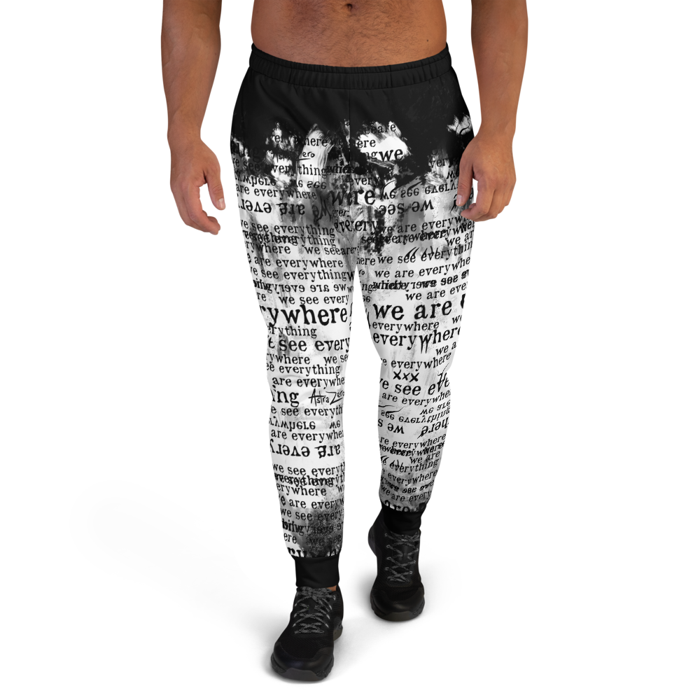 """Featured image for """"We Are Everywhere We See Everything ( Grunge ) - Men's Joggers"""""""