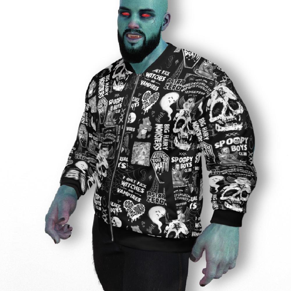 "Featured image for ""Gay Punk - Unisex Bomber Jacket"""