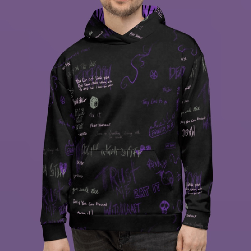 """Featured image for """"Purple Mess - Unisex Hoodie"""""""