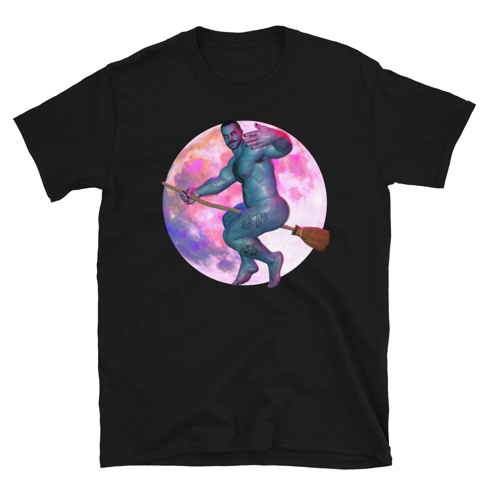 """Featured image for """"New Nails / Gay Witch - Short-Sleeve Unisex T-Shirt"""""""