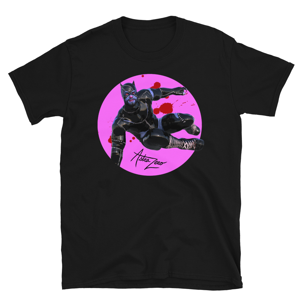 """Featured image for """"Zombie Cat - Short-Sleeve Unisex T-Shirt"""""""