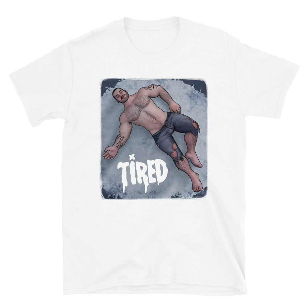 """Featured image for """"Tired Boy - Short-Sleeve Unisex T-Shirt"""""""