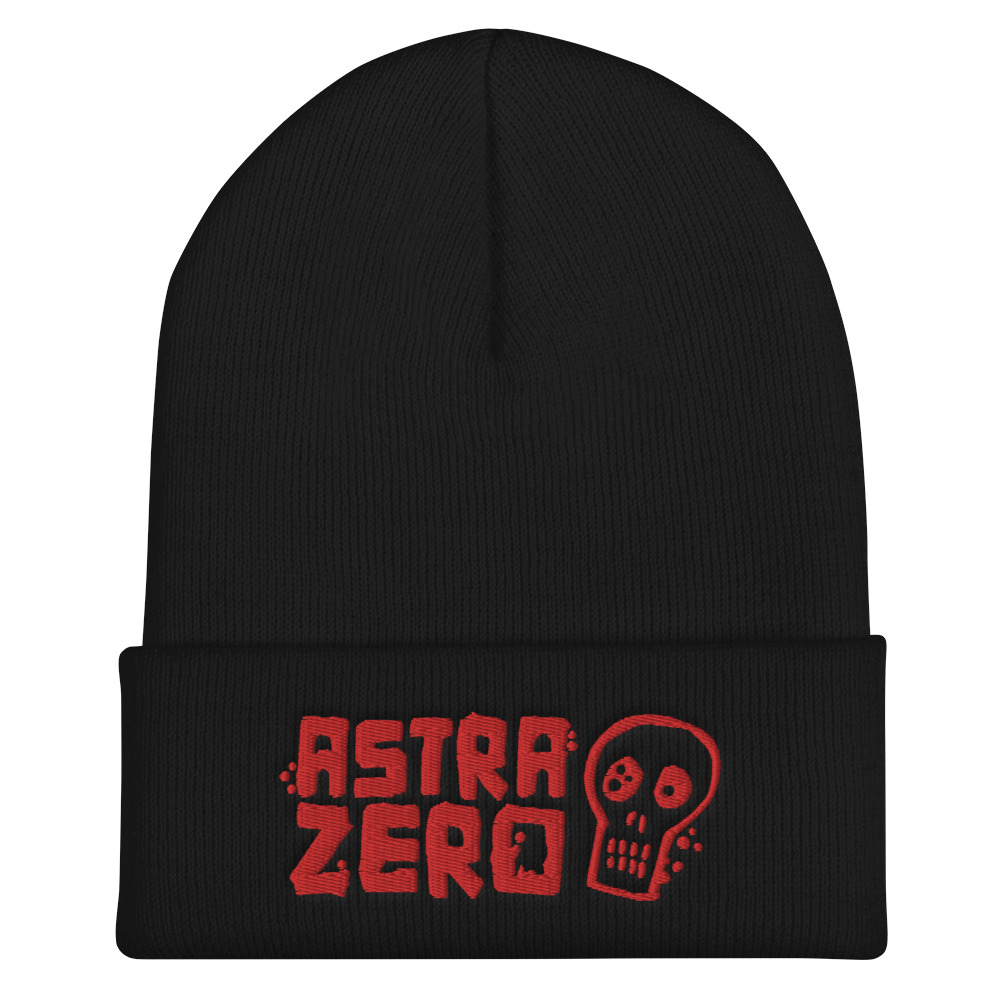 """Featured image for """"Astra Zero Skull - Cuffed Beanie"""""""