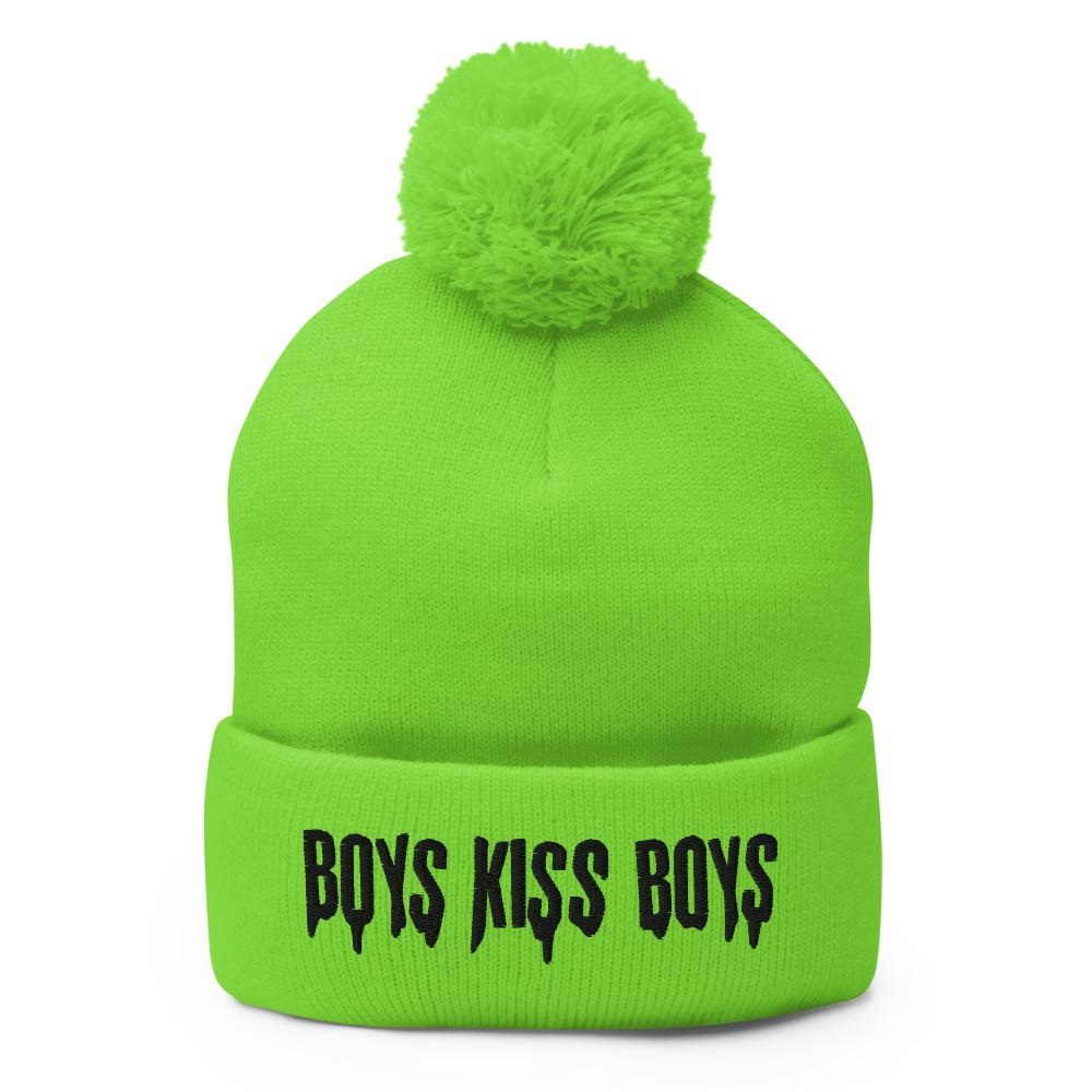 "Featured image for ""Boys Kiss Boys - Pom-Pom Beanie"""