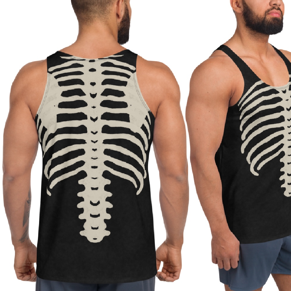 """Featured image for """"Dirty Bones - Unisex Tank Top"""""""