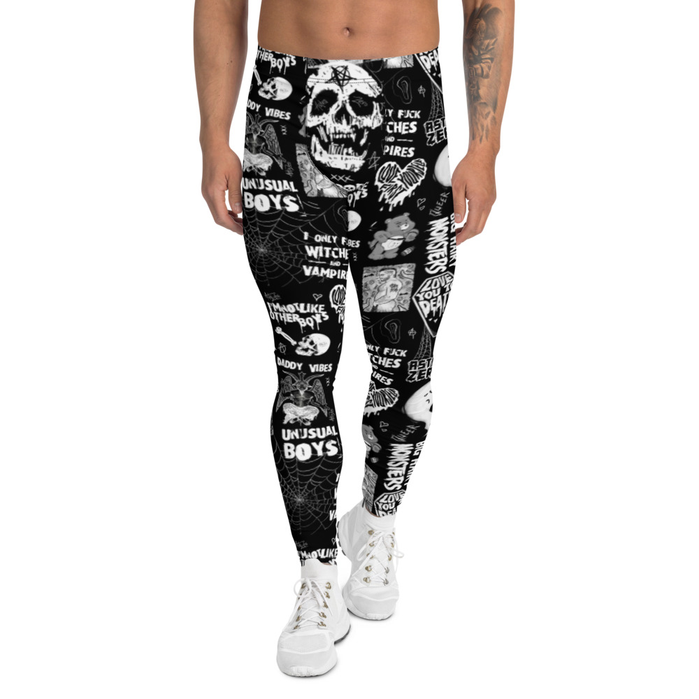 """Featured image for """"Gay Punk - Men's cut & sew Leggings"""""""