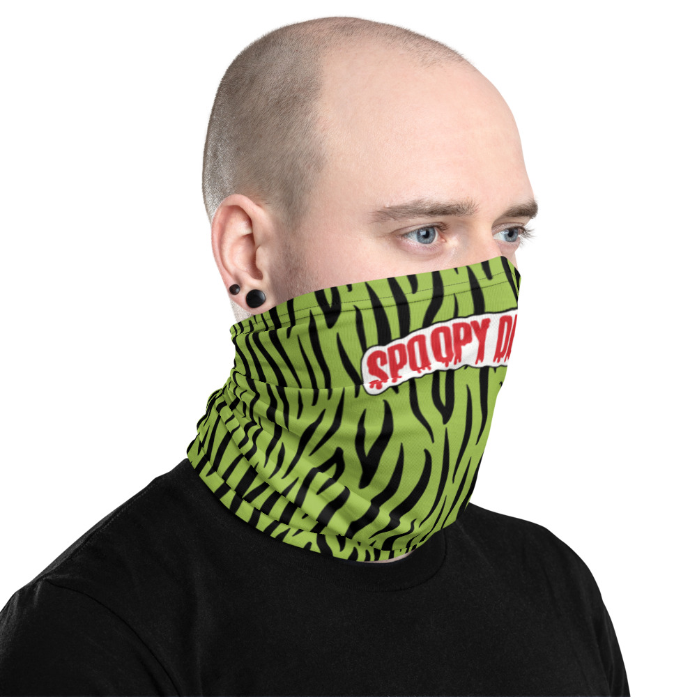 """Featured image for """"Spoopy Dead Kids Green - Neck gaiter"""""""
