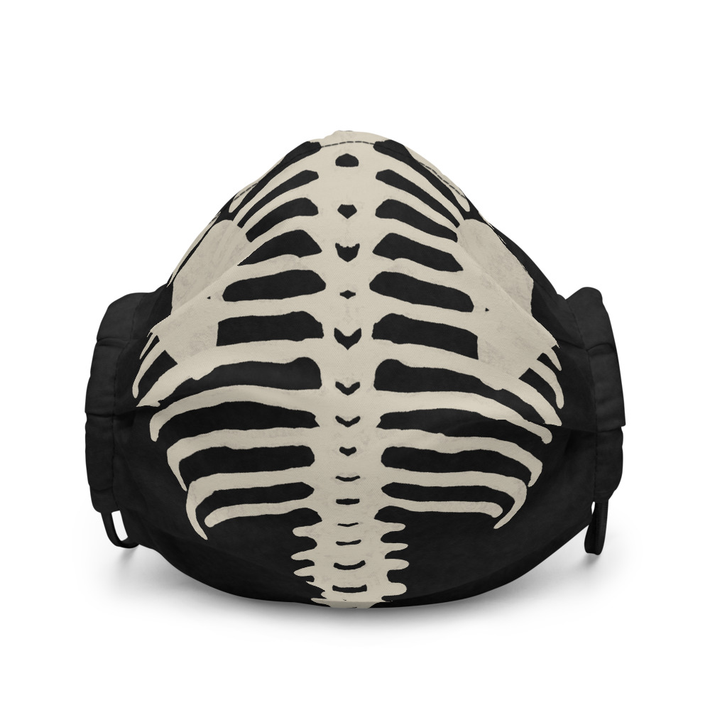 """Featured image for """"Dirty Bones - Premium face mask"""""""