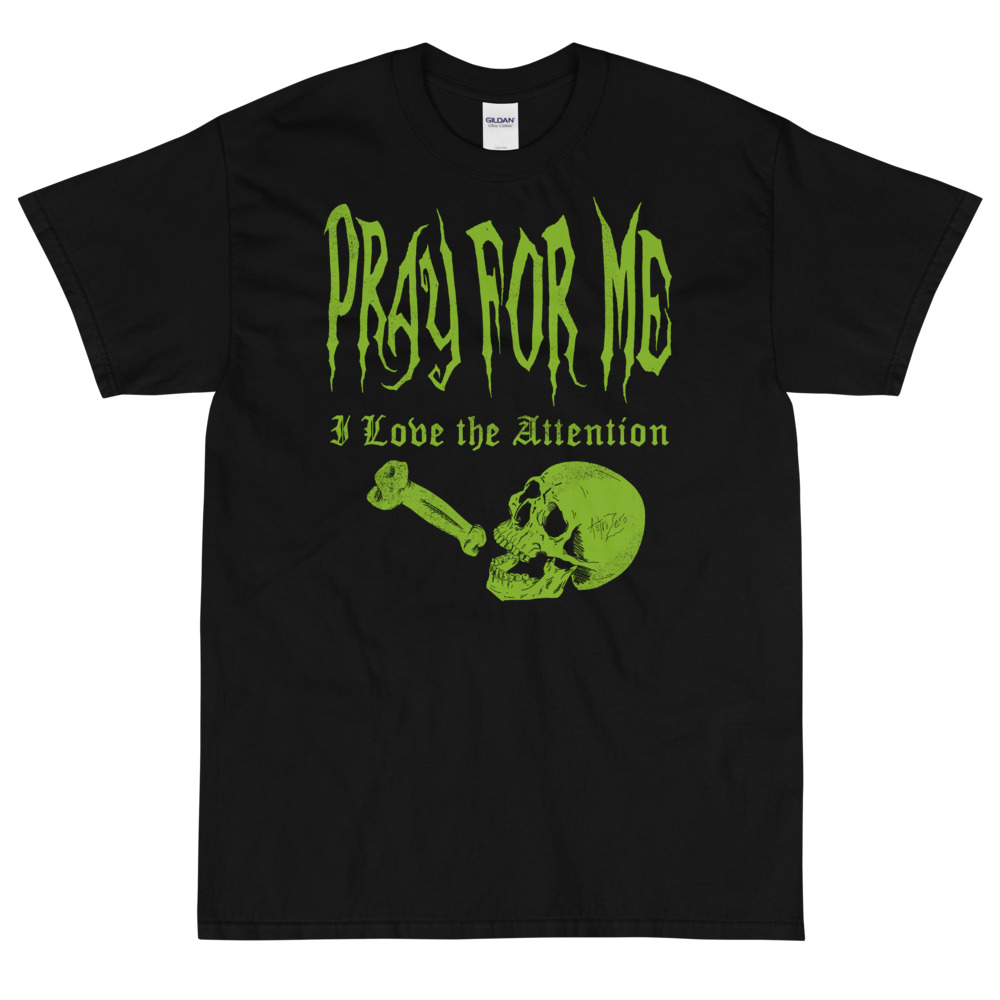 """Featured image for """"Pray for Me - Thick Men's Classic T-Shirt   Gildan 2000"""""""