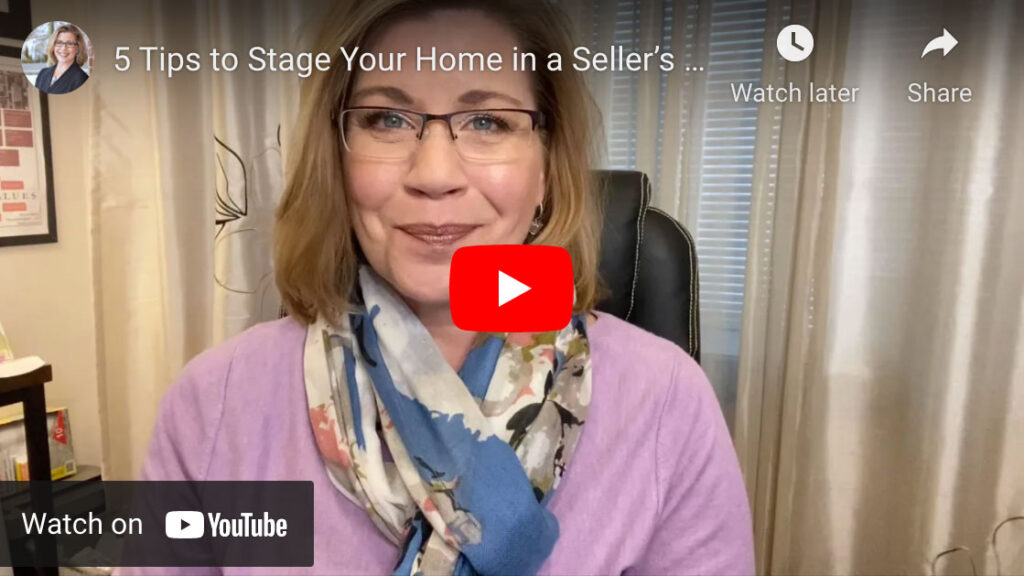 5 tips to stage a home