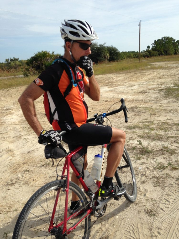 Paul on his Kona Gravel Bike
