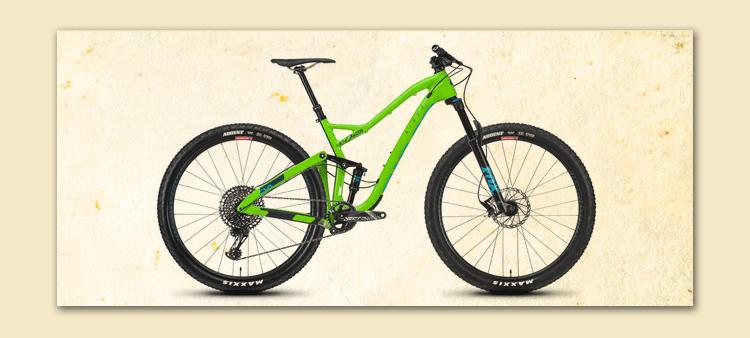 """niner bike green 29 """" fort myers customized"""