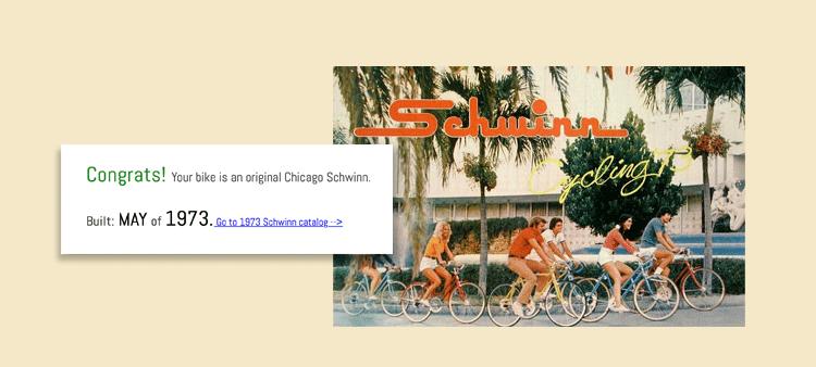 classic schwinn catalog