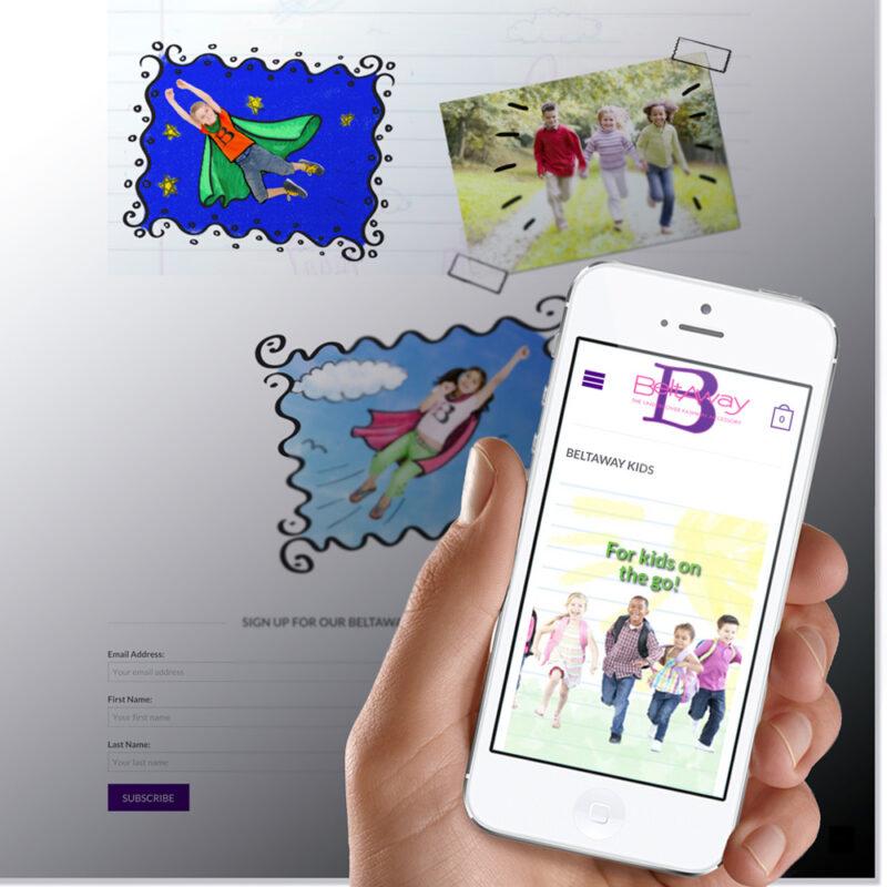 Betlaway kids screen shot on mobile device by UX/UI Designer Priscilla Prentice