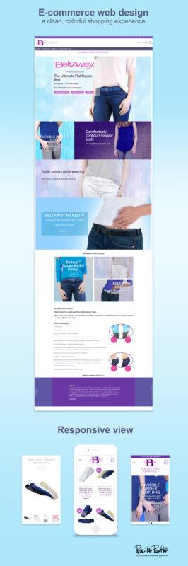 Beltaway Website Screenshots by UX/UI Designer Priscilla Prentice