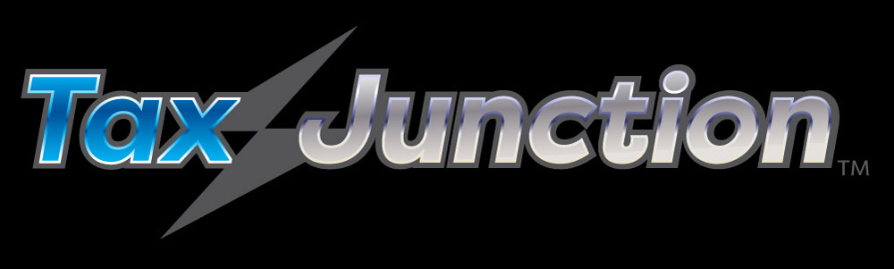 TaxJunction logo by designer Priscilla Prentice