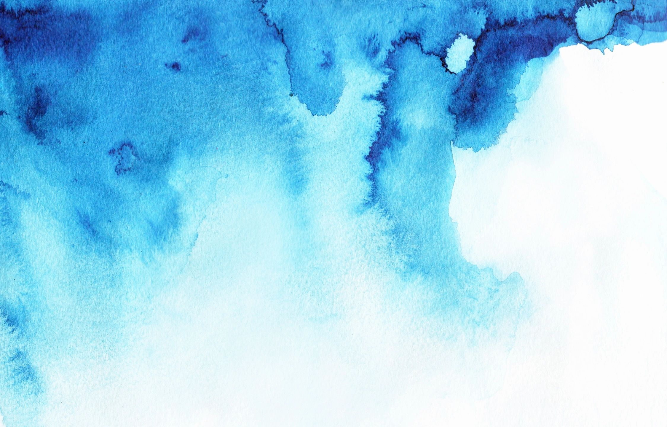 Blue watercolor painted background from the website of Illustrator Priscilla Prentice