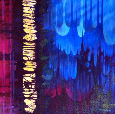Transmigration of Faith, a painting by Priscilla Prentice