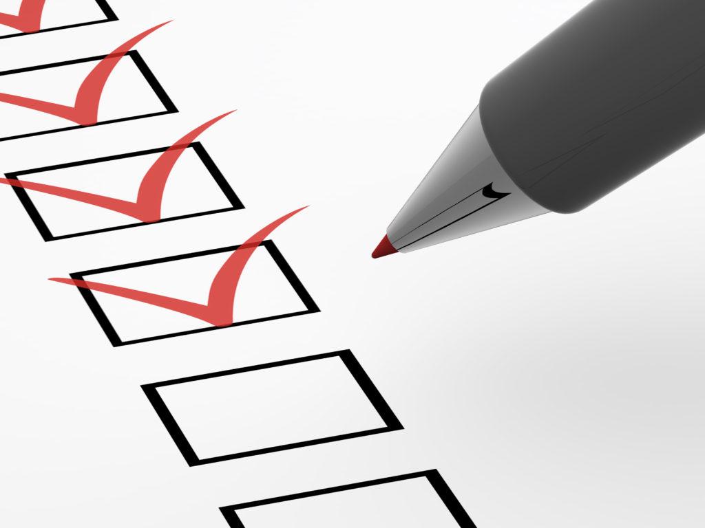 The questionnaire. 3d