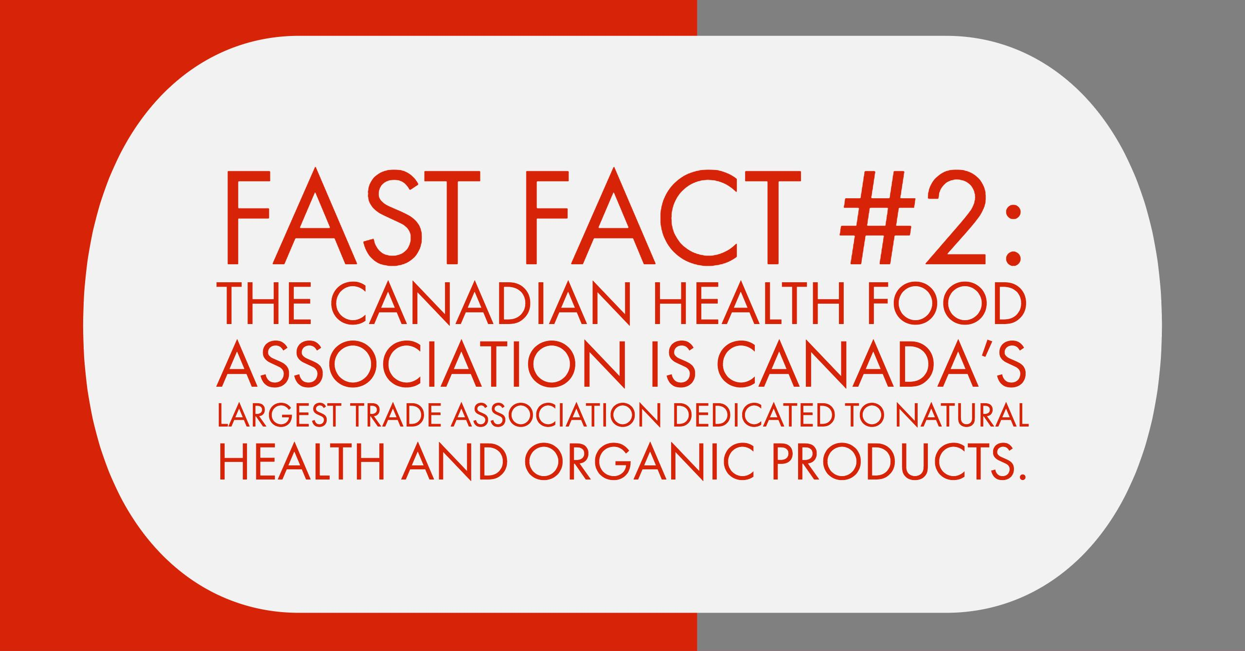 FastFact#2 Canadian Health Food Association