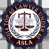 Christina Anton Top 40 Under 40 Lawyers Award