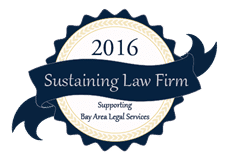 2016 Sustaining Law Firm Badge