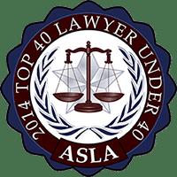 2014 ASLA Top 40 Lawyer Under 40